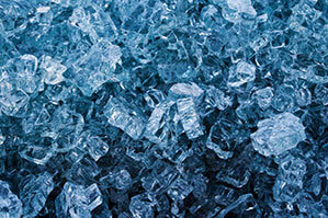 Crushed ICE Würfel