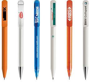 Prodir DS3 Kugelschreiber Druckbeispiele
