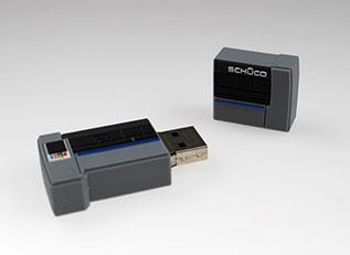 Schüco ließ von laprinta eine Maschine als USB-Stick umsetzen