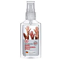 Desinfektionsmittel Werbegeschenke bedrucken bei laprinta