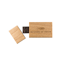 Holz-USB-Stick EcoWood mit Logodruck