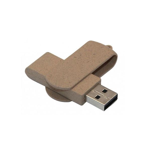Recycling-USB-Stick mit Logodruck
